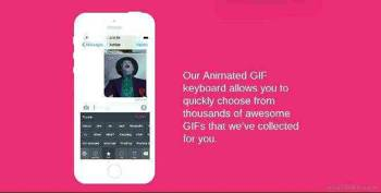 Popkey – teclado animado para Iphone