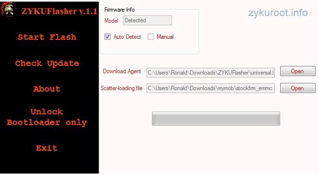 Como desbloquear o carregador de inicialização em lenovo a65